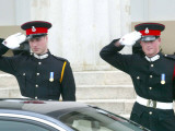 Prince William and Prince Harry, The Sovereign's Parade 2006 Photographic Print