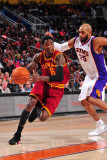 Cleveland Cavaliers  v Phoenix Suns, Phoenix - January 9: Manny Harris and Vince Carter Photographic Print by P.A. Molumby