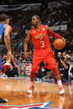 2011 NBA All Star Game, Los Angeles, CA - February 20: Chris Paul Photographic Print by Andrew Bernstein