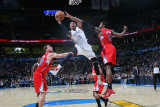 Los Angeles Clippers v Oklahoma City Thunder, Oklahoma City, OK - February 22: Russell Westbrook, B Photographic Print by Layne Murdoch