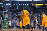 Los Angeles Lakers v Boston Celtics, Boston, MA - February 10: Ray Allen Photographic Print by Brian Babineau