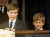 Prince William and Prince harry Fotografisk tryk