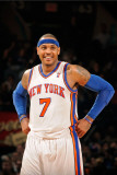 Cleveland Cavaliers  v New York Knicks, New York - March 4: Carmelo Anthony Photographic Print by Lou Capozzola