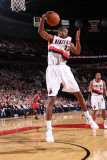Miami Heat v Portland Trail Blazers, Portland, OR - January 9: Marcus Camby Photographic Print by Sam Forencich