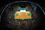 Los Angeles Lakers v Boston Celtics, Boston, MA - February 10: Fotografie-Druck von Steve Babineau