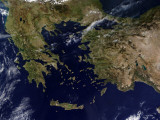 Turkey and Greece Photographic Print by  Stocktrek Images
