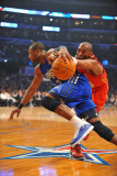 2011 NBA All Star Game, Los Angeles, CA - February 20: Dwyane Wade and Kobe Bryant Photographic Print by Garrett Ellwood