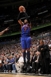New York Knicks v Orlando Magic, Orlando, FL - March 1: Carmelo Anthony Photographic Print by Fernando Medina