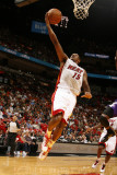 Sacramento Kings v Miami Heat, Miami - February 22: Mario Chalmers Photographic Print by Issac Baldizon
