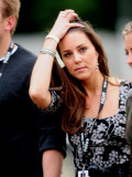 Kate Middleton enjoy in the concert in Hyde Park tonight Photographic Print