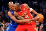 2011 NBA All Star Game, Los Angeles, CA - February 20: Kobe Bryant and Ray Allen Photographic Print by Kevork Djansezian