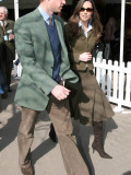 Prince William and Kate Middleton at Cheltenham, March 13th 2007 Photographic Print