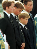 Princess Diana Funeral, September 6th 1997 Photographic Print