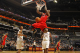 Toronto Raptors v Charlotte Bobcats, Charlotte, NC - February 22: Ed Davis Photographic Print by Kent Smith