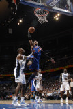 New York Knicks v Orlando Magic, Orlando, FL - March 1: Carmelo Anthony and Dwight Howard Photographic Print by Fernando Medina