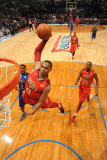 2011 NBA All Star Game, Los Angeles, CA - February 20: Russell Westbrook Photographic Print by Andrew Bernstein
