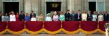Den britiske kongefamilie på dronningemoderens 100-års fødseldag, fredag den 5. august 2000 Fotografisk tryk