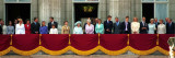 Royal Family on Queen Mother's 100th Birthday, Friday August 5, 2000 Fotografisk tryk