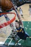 Denver Nuggets v Utah Jazz, Salt Lake City, UT - March 3: Chris Andersen Photographic Print by Melissa Majchrzak
