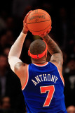 Milwaukee Bucks v New York Knicks, New York, NY - February 23: Carmelo Anthony Photographic Print by Chris Trotman