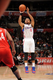Houston Rockets v Los Angeles Clippers, Los Angeles, CA - March 2: Eric Gordon Photographic Print by Andrew Bernstein
