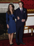 Prince William is to marry Kate Middleton next year, Clarence House has said Photographic Print
