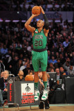 Foot Locker Three-Point Contest, Los Angeles, CA - February 19: Ray Allen Photographic Print by Garrett Ellwood