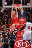 Houston Rockets v Los Angeles Clippers, Los Angeles, CA - March 2: Chase Budinger and DeAndre Jorda Photographic Print by Noah Graham