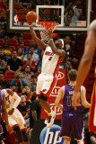 Sacramento Kings v Miami Heat, Miami - February 22: LeBron James Photographic Print by Issac Baldizon