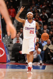 Houston Rockets v Los Angeles Clippers, Los Angeles, CA - March 2: Mo Williams Photographic Print by Andrew Bernstein