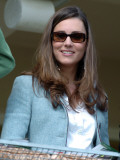 Kate Middleton in the Royal box at Cheltenham racecourse, 16th March 2007 Photographic Print