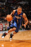 2011 NBA All Star Game, Los Angeles, CA - February 20: Derrick Rose Photographic Print by Noah Graham