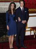 Prince William is to marry Kate Middleton next year, Clarence House has said Fotografisk tryk