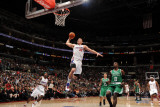 Boston Celtics v Los Angeles Clippers, Los Angeles, CA - February 26: Blake Griffin and Jeff Green Photographic Print by Noah Graham