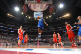 2011 NBA All Star Game, Los Angeles, CA - February 20: LeBron James Photographic Print by Andrew Bernstein