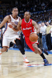 Los Angeles Clippers v Oklahoma City Thunder, Oklahoma City, OK - February 22: Randy Foye and Thabo Photographic Print by Layne Murdoch