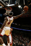 Orlando Magic v Miami Heat, Miami, FL - March 3: LeBron James Photographic Print by Issac Baldizon