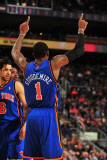 New York Knicks v Phoenix Suns, Phoenix - January 7: Amar'e Stoudemire Photographic Print by Barry Gossage