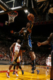 Orlando Magic v Miami Heat, Miami, FL - March 3: Dwight Howard Photographic Print by Issac Baldizon
