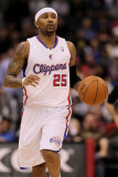 Denver Nuggets v Los Angeles Clippers, Los Angeles, CA - March 5: Mo Williams Photographic Print by Stephen Dunn
