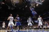 New York Knicks v Orlando Magic, Orlando, FL - March 1: Amar'e Stoudemire, Dwight Howard and Hedo T Photographic Print by Fernando Medina