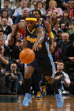 Denver Nuggets v Utah Jazz, Salt Lake City, UT - March 3: Ty Lawson Photographic Print by Melissa Majchrzak
