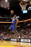 New York Knicks v Miami Heat, Miami, FL - February 27: Amar'e Stoudemire Photographic Print by Mike Ehrmann