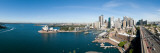 View of City, Sydney Opera House, Circular Quay, Sydney Harbor, Sydney, New South Wales, Australia Wallsticker af Panoramic Images,