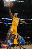 New Orleans Hornets v Los Angeles Lakers, Los Angeles - January 7: Ron Artest Photographic Print by Noah Graham