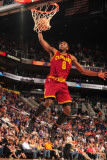 Cleveland Cavaliers  v Phoenix Suns, Phoenix - January 9: Christian Eyenga Photographic Print by Barry Gossage