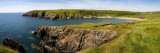 Kilmurrin Cove in the Copper Coast Geopark, Near Boatstrand, County Waterford, Ireland Wall Decal by  Panoramic Images
