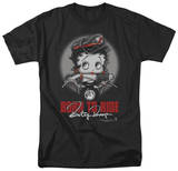 Betty Boop-Born To Ride T-shirts