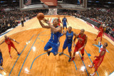 2011 NBA All Star Game, Los Angeles, CA - February 20: Derrick Rose Photographic Print by Andrew Bernstein