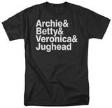 Archie Comics-Ampersand List T-shirts